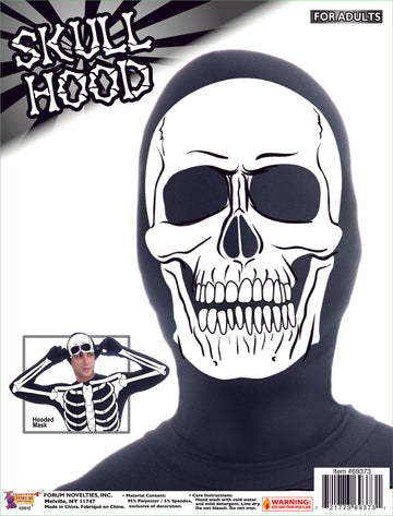 Disappearing Man Hood -- Skull