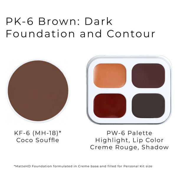 Personal Makeup Kit (Brown Tones) by Ben Nye