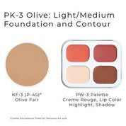 Personal Makeup Kit (Olive Tones) by Ben Nye
