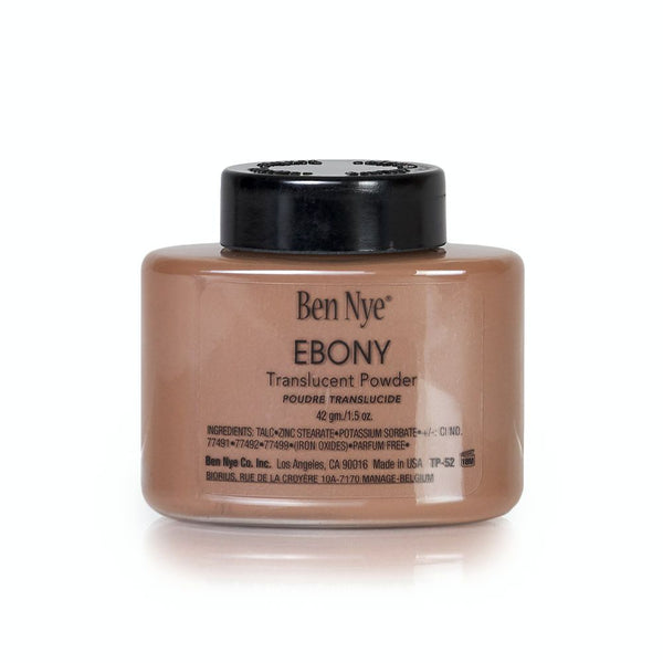 Ebony Translucent Face Powder by Ben Nye