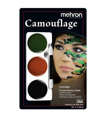 Camoflauge Tri Color Makeup Kit by Mehron