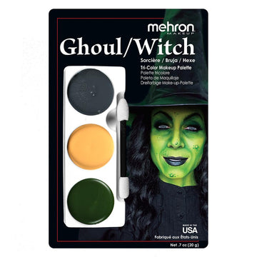 Ghoul/Witch Tri Color Makeup Kit by Mehron