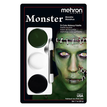 Monster Tri Color Makeup Kit by Mehron