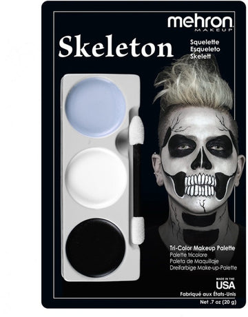 Skeleton Tri Color Makeup Kit by Mehron