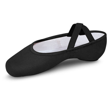 Performa Ballet Canvas Split Sole by Bloch (Adult, Black)