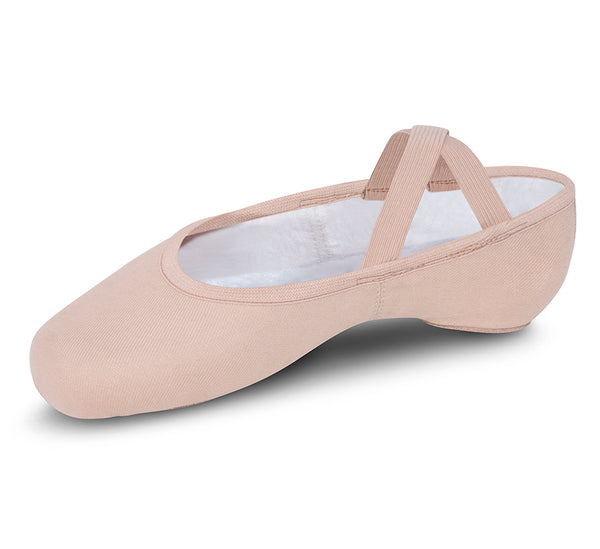 Performa Ballet Canvas Split Sole by Bloch (Adult, Light Theatrical Pink)