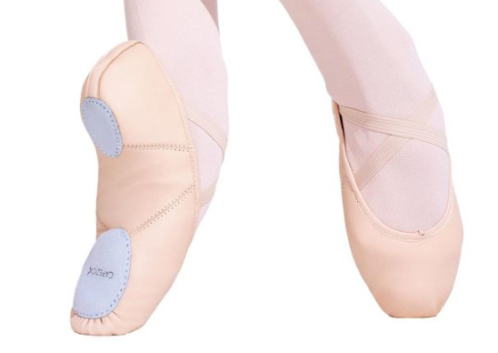 Juliet Ballet Split Sole Leather by Capezio (Adult)