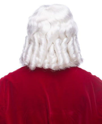 Super Deluxe Santa Beard & Wig Set