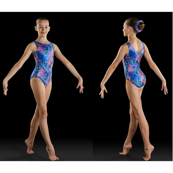 Wildflower Gymnastic Leotard by Leos (Child)