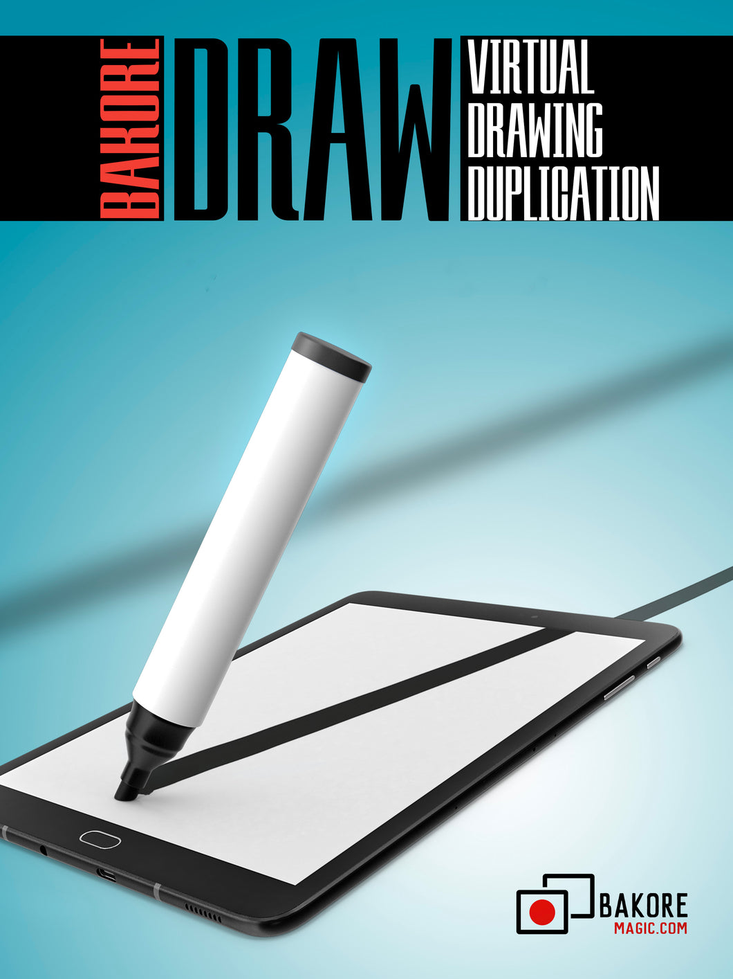 DRAW - virtual drawing duplication