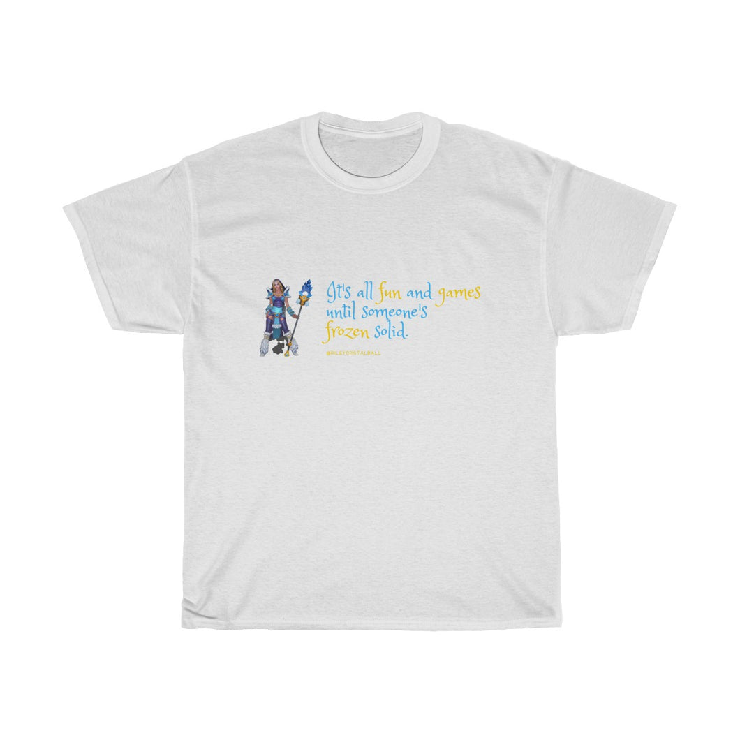 Tee-shirt 'Fun and Games' - Crystal Maiden - White Edition