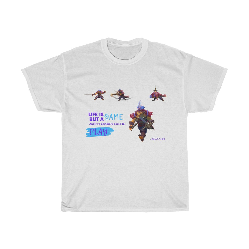 Tee-shirt 'Come to Play' - Pangolier - White Edition