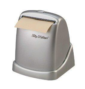 Zip Notes Executive Dispenser Silver