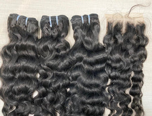 Mink Loose Wavy Closure 5x5