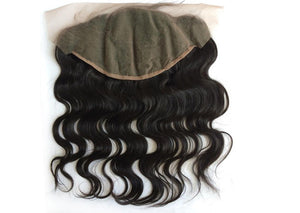 Raw Indian Wavy Frontal 13x4 - Swiss Lace