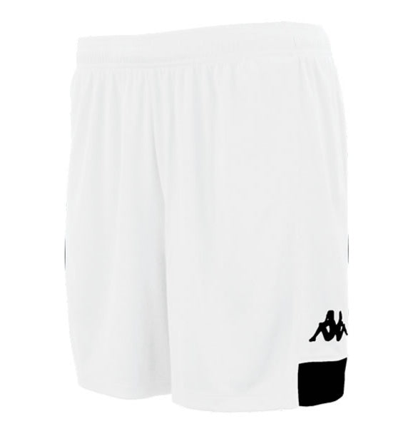 Kappa Paggo Football Shorts (White/Black)