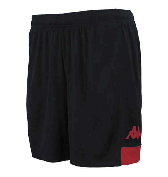 Kappa Paggo Football Shorts (Black/Red)