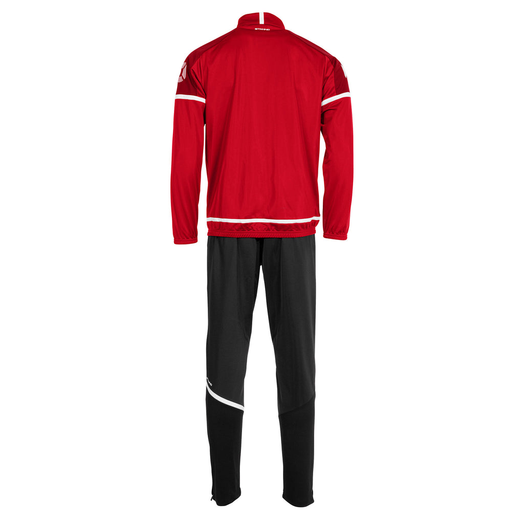 Stanno Prestige Polyester Tracksuit (Red/White)