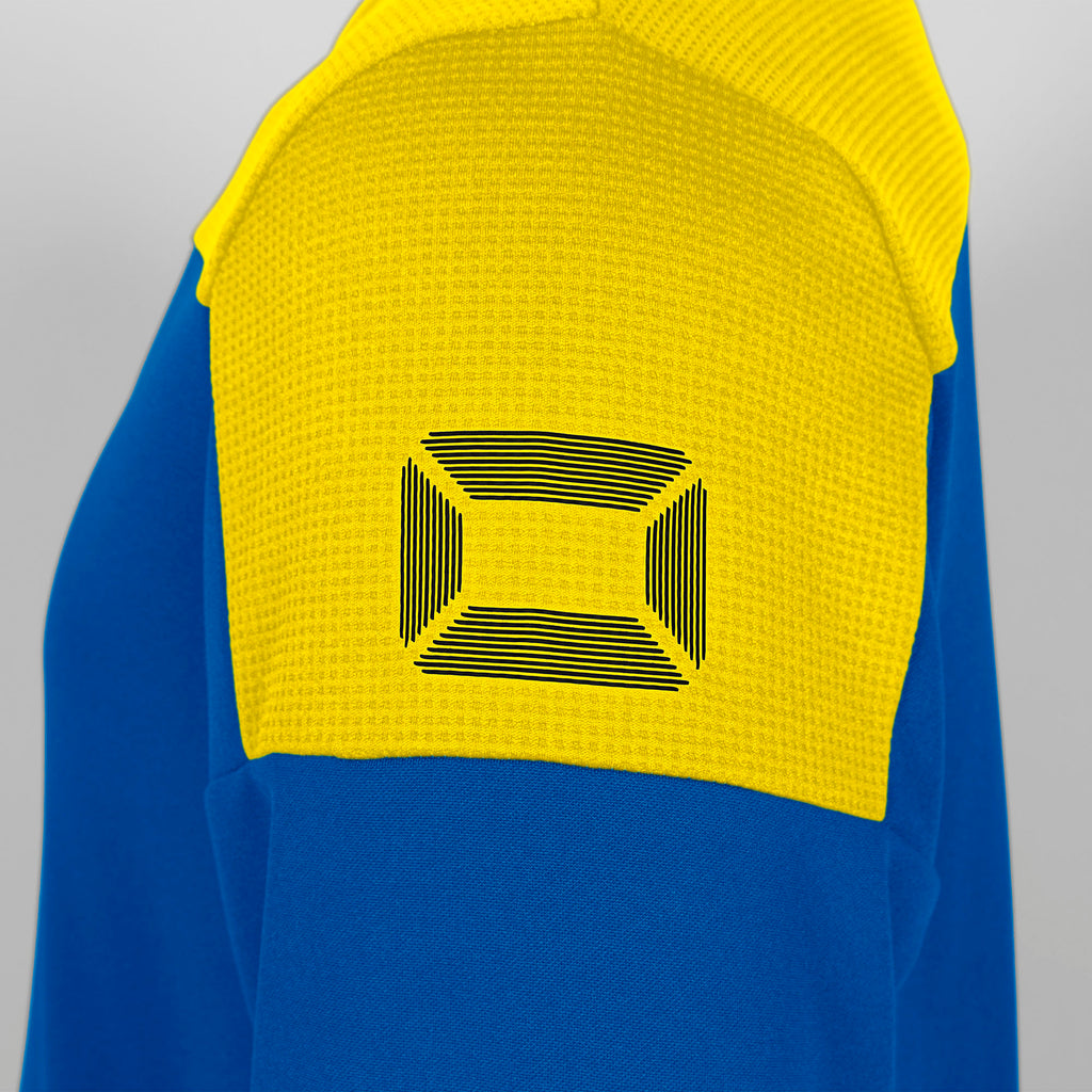 Stanno Pride Training Top Round Neck (Royal/Yellow)