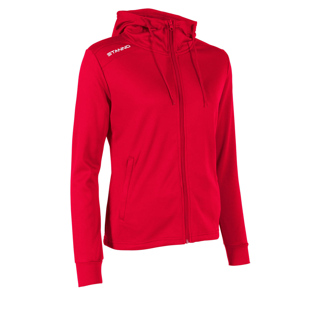Stanno Womens Field Hooded Jacket (Red)