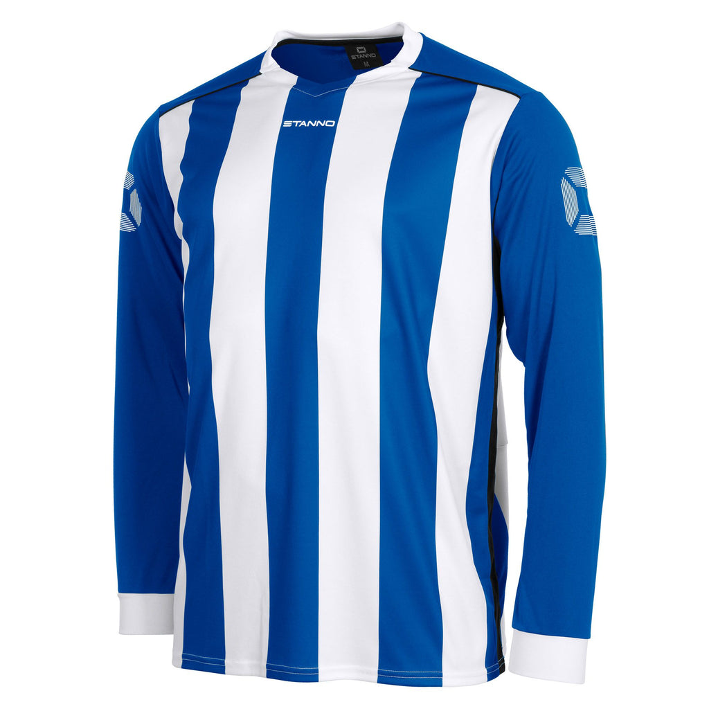 Stanno Brighton LS Football Shirt (Royal/White)