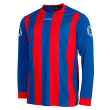 Load image into Gallery viewer, Stanno Brighton LS Football Shirt (Royal/Red)