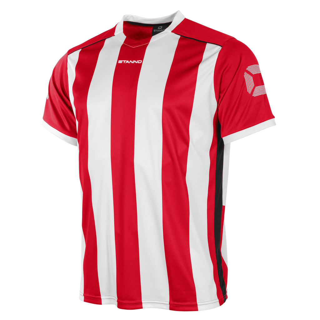 Stanno Brighton SS Football Shirt (Red/White)