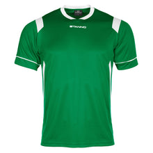 Load image into Gallery viewer, Stanno Arezzo SS Football Shirt (Green/White)