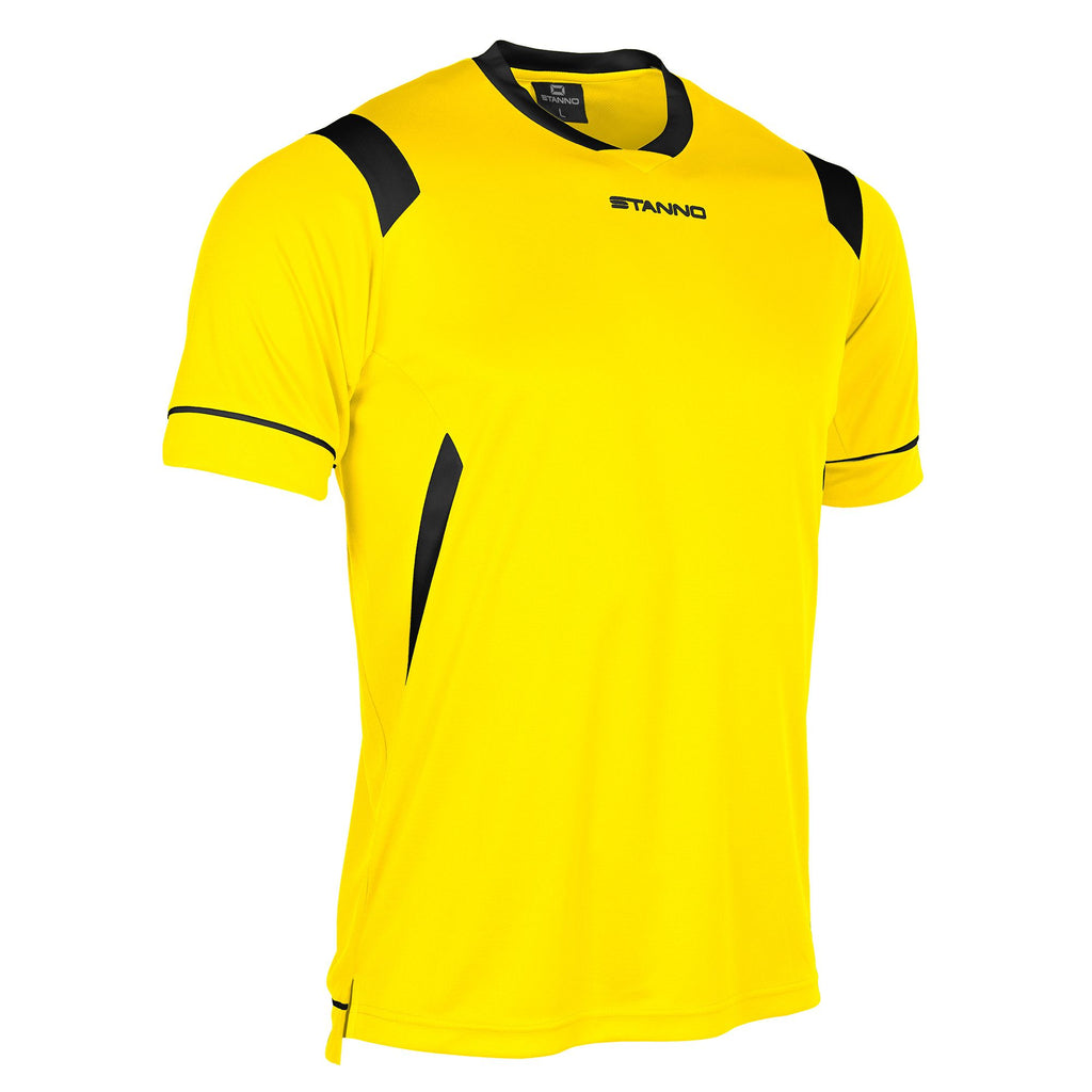 Stanno Arezzo SS Football Shirt (Yellow/Black)