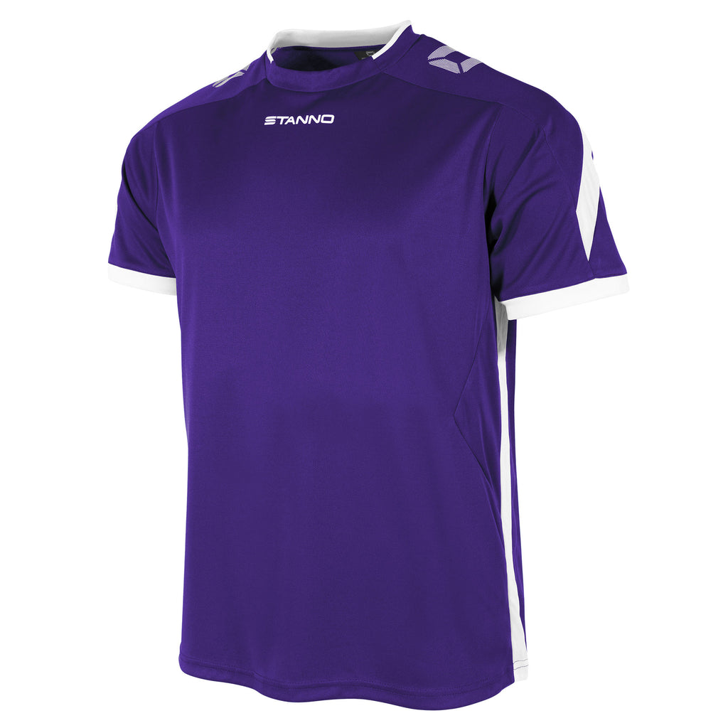 Stanno Drive SS Football Shirt (Purple/White)
