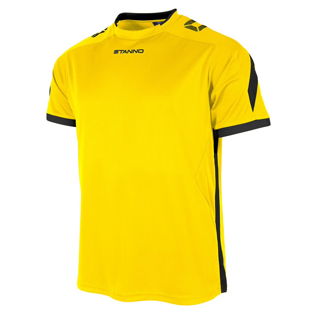 Stanno Drive SS Football Shirt (Yellow/Black)