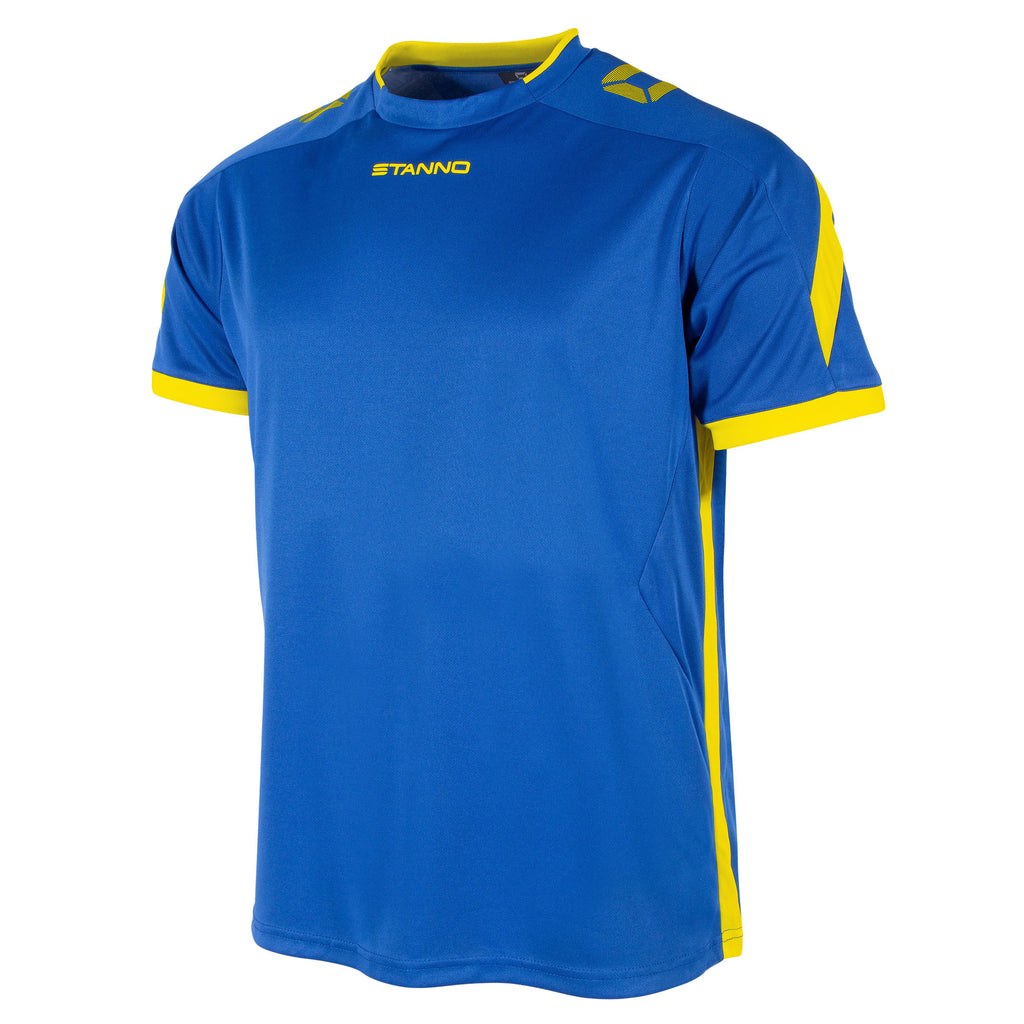 Stanno Drive SS Football Shirt (Royal/Yellow)