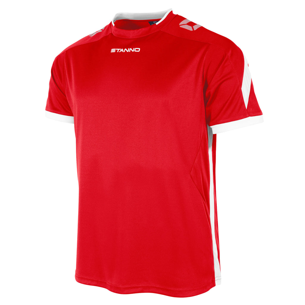 Stanno Drive SS Football Shirt (Red/White)