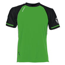 Load image into Gallery viewer, Stanno Liga SS Football Shirt (Bright Green/Black)