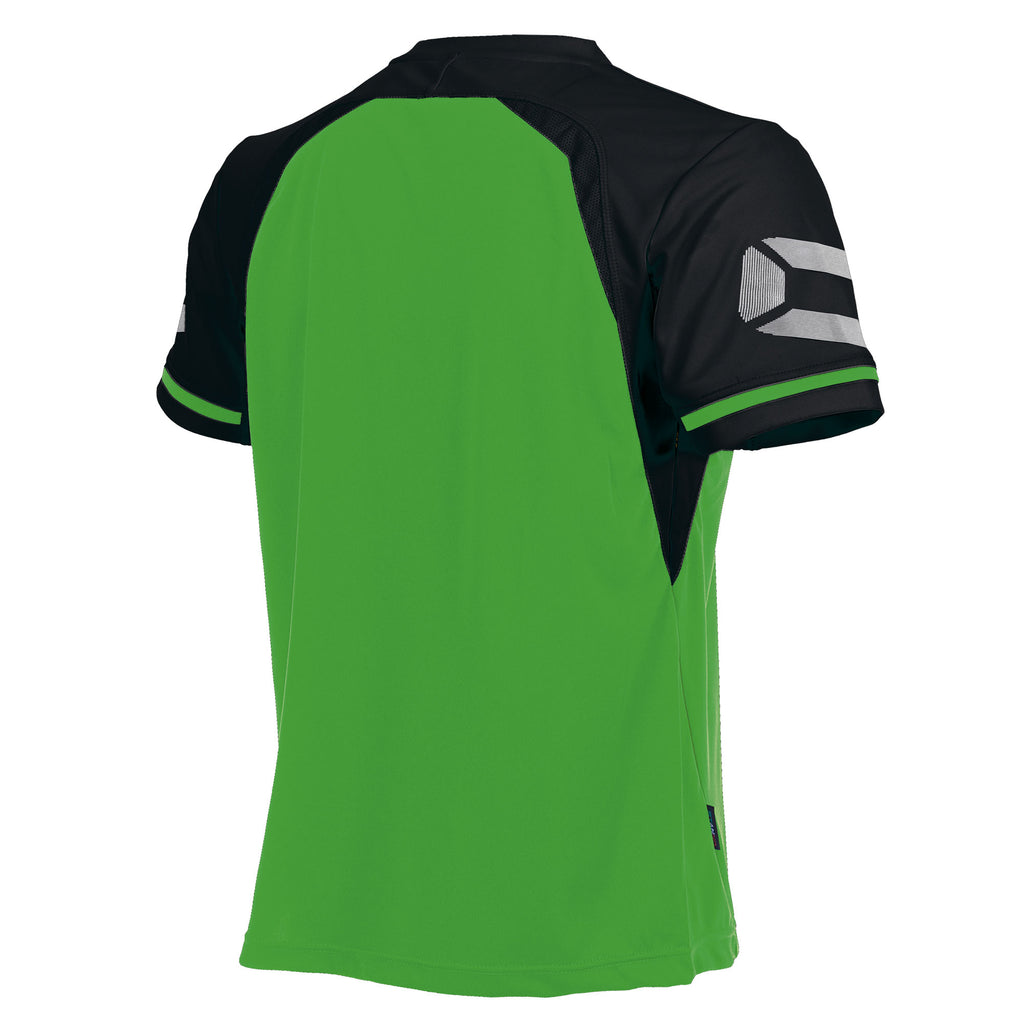 Stanno Liga SS Football Shirt (Bright Green/Black)