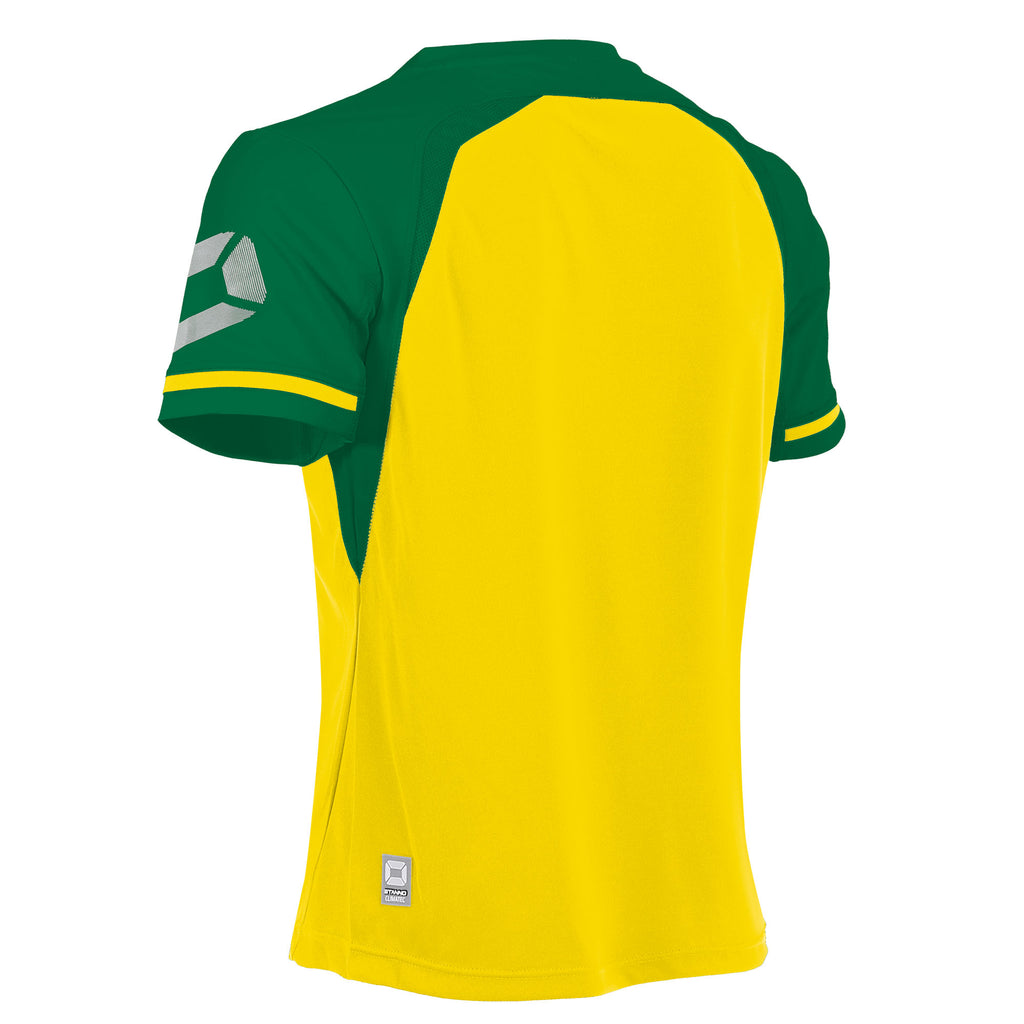 Stanno Liga SS Football Shirt (Yellow/Green)