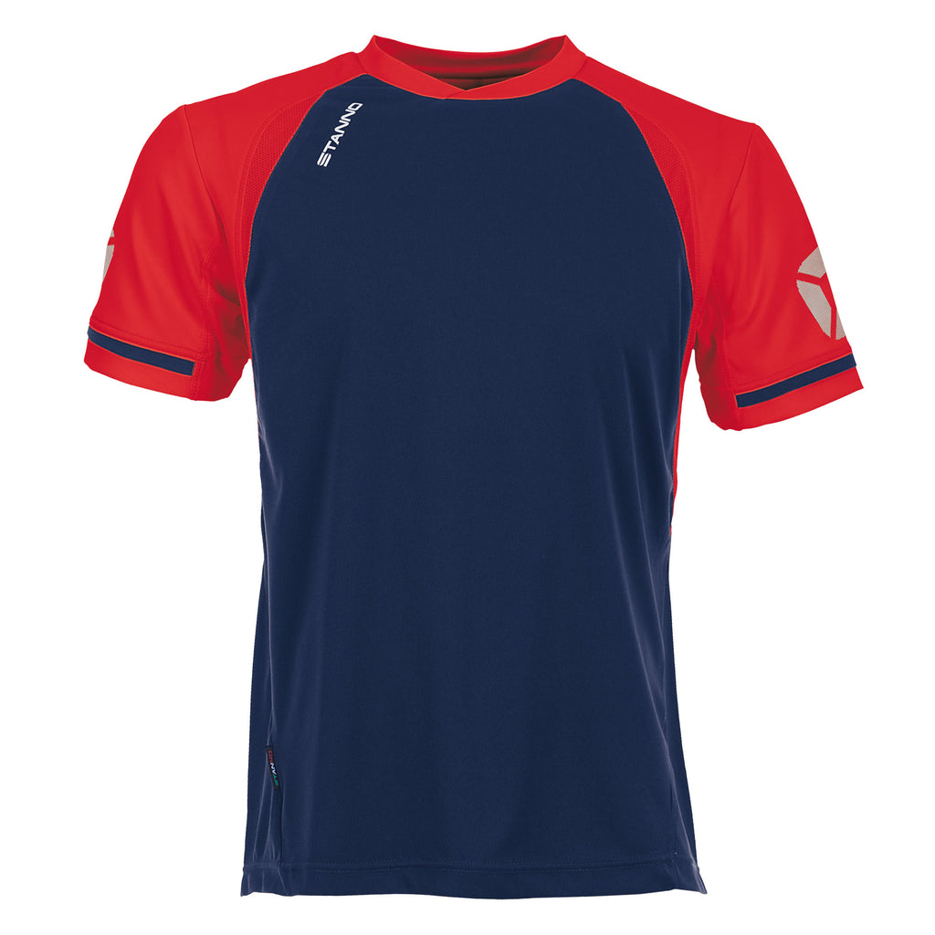 Stanno Liga SS Football Shirt (Navy/Red)