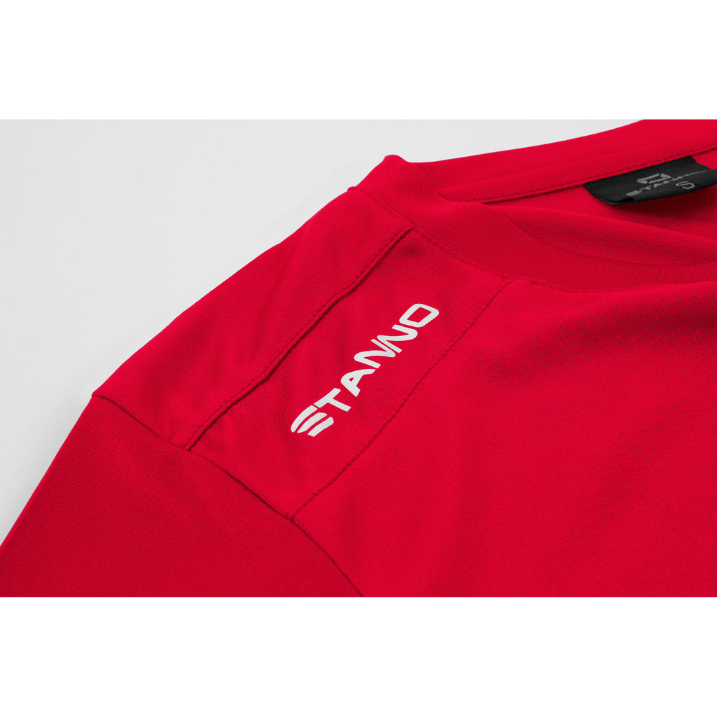 Stanno Womens Field SS Football Shirt (Red)