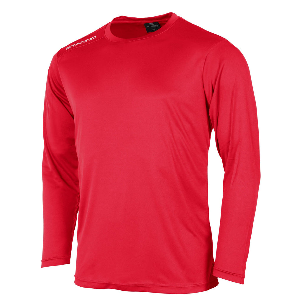 Stanno Field LS Football Shirt (Red)