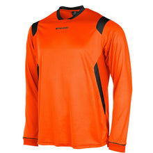 Load image into Gallery viewer, Stanno Arezzo LS Football Shirt (Orange/Black)