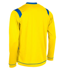 Load image into Gallery viewer, Stanno Arezzo LS Football Shirt (Yellow/Royal)