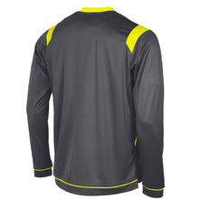 Load image into Gallery viewer, Stanno Arezzo LS Football Shirt (Anthracite/Neon Yellow)