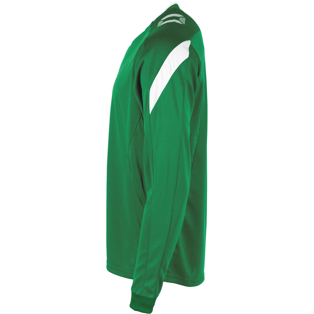 Stanno Drive LS Football Shirt (Green/White)