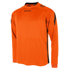 Load image into Gallery viewer, Stanno Drive LS Football Shirt (Orange/Black)