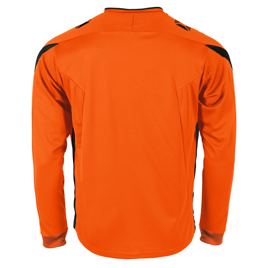 Stanno Drive LS Football Shirt (Orange/Black)