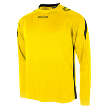 Load image into Gallery viewer, Stanno Drive LS Football Shirt (Yellow/Black)