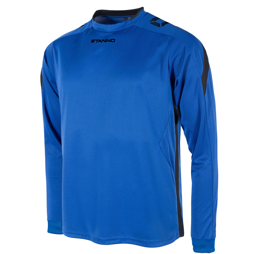 Stanno Drive LS Football Shirt (Royal/Black)