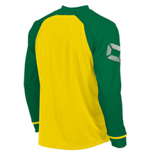 Load image into Gallery viewer, Stanno Liga LS Football Shirt (Yellow/Green)