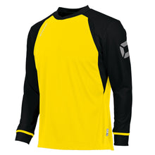 Load image into Gallery viewer, Stanno Liga LS Football Shirt (Yellow/Black)