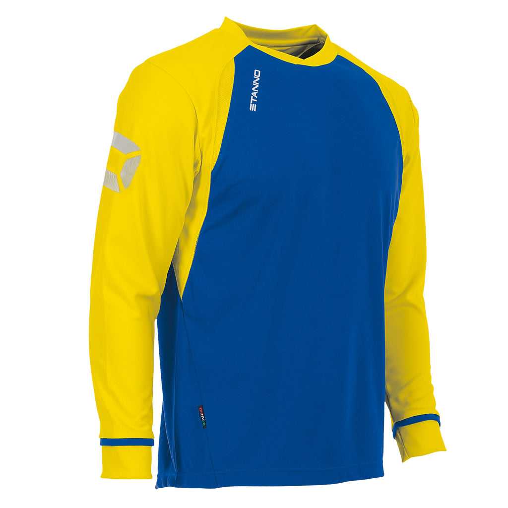 Stanno Liga LS Football Shirt (Royal/Yellow)